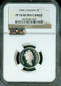 Click now to see the BUY IT NOW Price! 1996 CANADA SILVER 25 CENTS  NGC MAC PR70 UHCAM  SOLO FINEST SPOTLESS