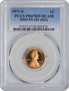 Click now to see the BUY IT NOW Price! 1971 S LINCOLN CENT PCGS PR67RD DCAM DDO CHERRYPICKER FS 101 DOUBLE DIE OBVERSE