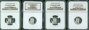 Click now to see the BUY IT NOW Price! 1997 2008 $25 PLATINUM EAGLE STATUE OF LIBERTY NGC PF70 PROOF PR70 COMPLETE SET