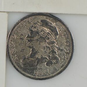 1831 CAPPED BUST DIME  Z62