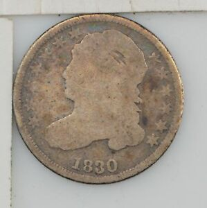1830 CAPPED BUST DIME TYPE 2  Y139