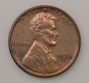 1936 S LINCOLN WHEAT EARS CENT  G35