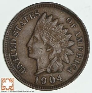 1904 INDIAN HEAD CENT  1373
