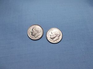 1994 P AND 1994 D   ROOSEVELT DIMES