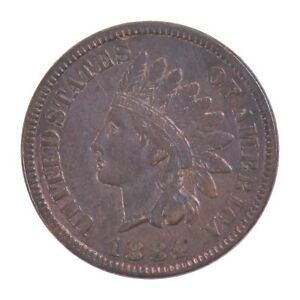 1884 INDIAN HEAD ONE CENT  Z05