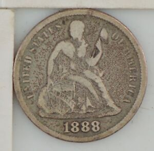 1888 LIBERTY SEATED DIME  Z83