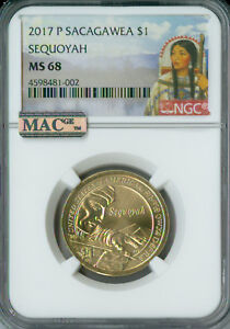 Click now to see the BUY IT NOW Price! 2017 P SACAGAWEA TRADE ROUTES DOLLAR NGC MAC MS68 PQ FINEST POP 8 SPOTLESS