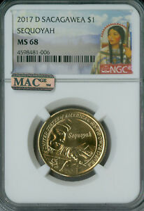 Click now to see the BUY IT NOW Price! 2017 D SACAGAWEA TRADE ROUTES DOLLAR NGC MAC MS68 PQ FINEST POP 3 SPOTLESS