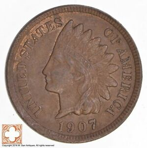 1907 INDIAN HEAD CENT  4355