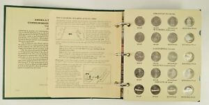AMERICAN THE BEAUTIFUL COMMEMORATIVE QUARTERS VOLUME ONE 2010 2015 ALBUM  762