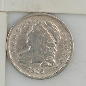 1836 CAPPED BUST DIME  Z54