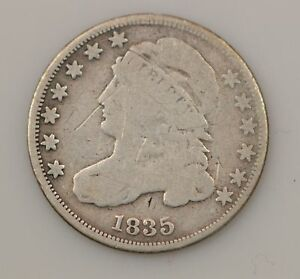 1835 CAPPED BUST SILVER DIME  G06