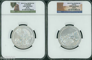 Click now to see the BUY IT NOW Price! 2012 2013 & 2014 P 15 COINS SET ATB NP 5 OZ SILVER NGC SP70 EARLY FIRST RELEASE