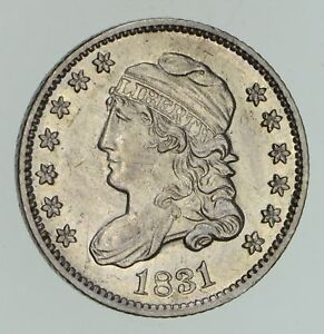 1831 CAPPED BUST HALF DIME   NOT CIRCULATED  4736