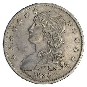 1834 CAPPED BUST QUARTER  CIRCULATED  2775