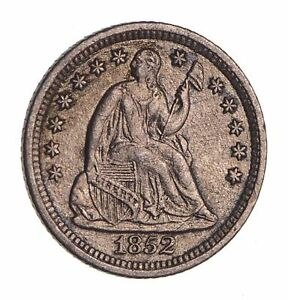 1852 O SEATED LIBERTY HALF DIME   NEAR UNCIRCULATED  1654