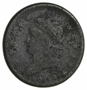 1808 CLASSIC HEAD LARGE CENT   CIRCULATED  1884