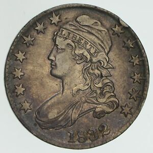 1832 CAPPED BUST HALF DOLLAR   CIRCULATED  3970