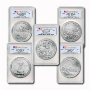Click now to see the BUY IT NOW Price! USA AMERICA THE BEAUTIFUL SET 5 5 OZ SILVER COINS 2011 FIRST STRIKE PCGS CHOICE