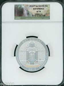 Click now to see the BUY IT NOW Price! 2010 P HOT SPRINGS NP 25C AMERICA THE BEAUTIFUL ATB 5 OZ. SILVER NGC SP70