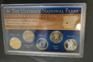 2010 ULTIMATE NATIONAL PARKS HOT SPRINGS QUARTER COLLECTION