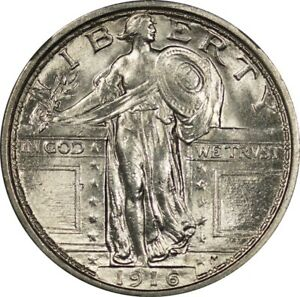 Click now to see the BUY IT NOW Price! 1916 STANDING LIBERTY QUARTER 25C NGC MS64FH