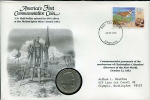 AMERICA'S FIRST COMMEMORATIVE COIN | 1892 WORLD'S COLUMBIAN EXPOSITION | SILVER