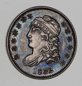 1832 CAPPED BUST HALF DIME   CHOICE  7650