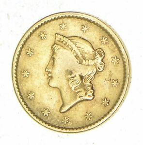 1850 LIBERTY HEAD GOLD DOLLAR   CIRCULATED  7029