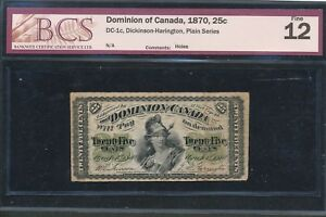 Click now to see the BUY IT NOW Price! 1870 25 CENTS DOMINION OF CANADA