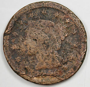 1846 LARGE CENT.  CIRCULATED. 75366