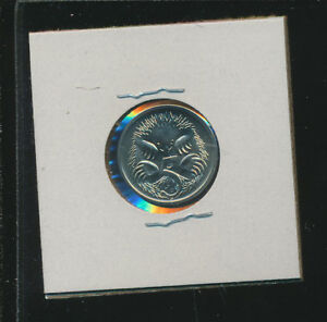 AUSTRALIA    5 CENTS PROOF LIKE GEM    1986   LOW MINTAGE