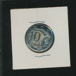 AUSTRALIA    10 CENTS PROOF LIKE GEM    1986   LOW MINTAGE