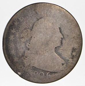 1806 DRAPED BUST QUARTER   CIRCULATED  0768