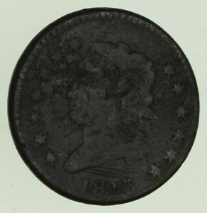 1813 CLASSIC HEAD LARGE CENT   CIRCULATED  8772