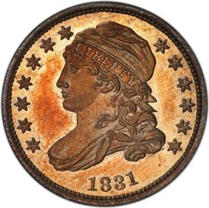 Click now to see the BUY IT NOW Price! 1831 10C CAPPED BUST DIME PCGS PR66  CAC