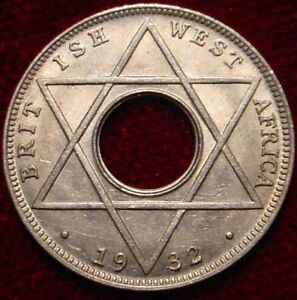 HI GRADE 1932 1/10TH PENNY BRITISH SOUTH AFRICA  SUPERB  DETAILED COIN