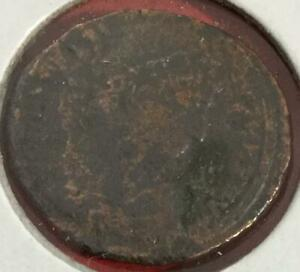 300 A.D. OLD ANCIENT UNKNOWN COIN  GREAT DETAILS
