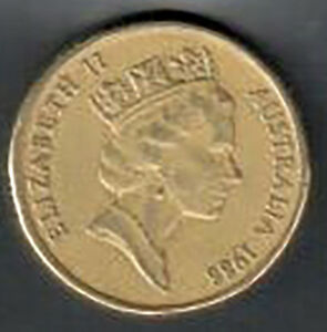 CIRCULATED AUSTRALIA TWO DOLLAR $2 COIN   1985