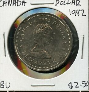 1982 CANADA 125TH CONFEDERATION   CONSTITUTION ANNIVER. COMMEM. $1 DOLLAR FC175