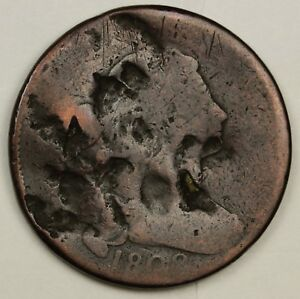 1802 LARGE CENT.  CIRCULATED.  130281