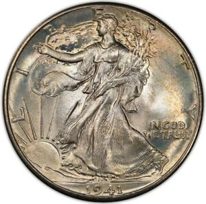 Click now to see the BUY IT NOW Price! 1941 50C WALKING LIBERTY HALF DOLLAR PCGS MS68