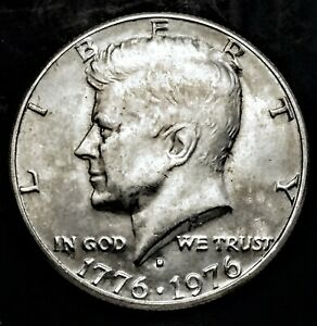 CMI 148  1976 D KENNEDY HALF DOLLAR IN MINT CONDITION   $20 ORDERS SHIP FREE