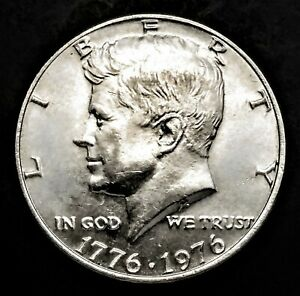 CMI 132  1976 P KENNEDY HALF DOLLAR IN MINT CONDITION   $20 ORDERS SHIP FREE