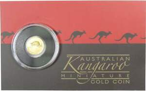 2017 $2 AUSTRALIA 0.5G GOLD KANGAROO CHOICE PROOF