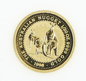 COIN   THE AUSTRALIAN NUGGET   1/20 OZ. 9999 GOLD   1998