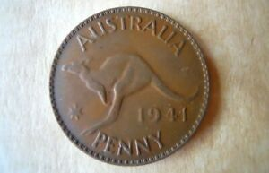 1941 AUSTRALIA PENNY NICE DETAILS LOWEST PRICE AVAILABLE DON'T MISS OUT