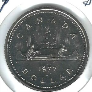 1986 CANADA $1 PROOF LIKE VOYAGEUR DOLLAR COIN