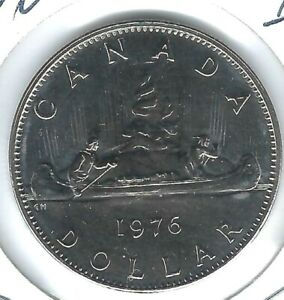 1983 CANADA $1 PROOF LIKE VOYAGEUR DOLLAR COIN