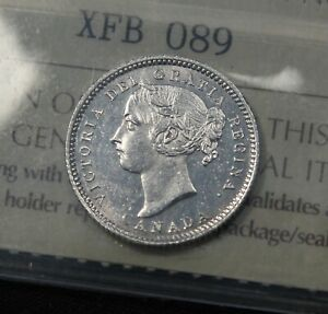 Click now to see the BUY IT NOW Price! 1887 7/7 ICCS GRADED MS 62 CANADA SILVER 10 CENTS. LIKELY HIGHEST KNOWN 7 OVER 7